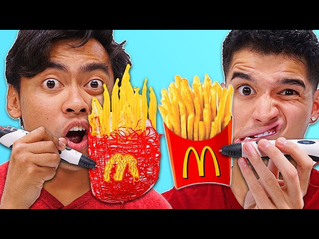 DRAW IT with a 3D PEN, You Keep It - Challenge (ft. @Wassabi)