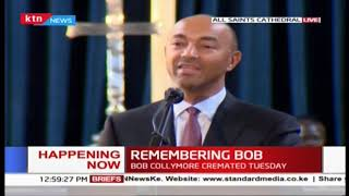 Peter Kenneth's speech during Bob Collymore's memorial