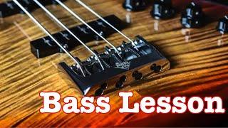 Shark Attack - Split Enz - Bass Lesson
