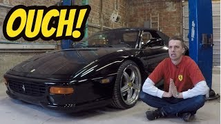 Here's What Broke on My Cheap Ferrari F355  ***OUCH***