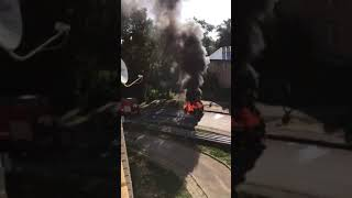 Выксавкурсе.рф: На Осипенко сгорел автомобиль
