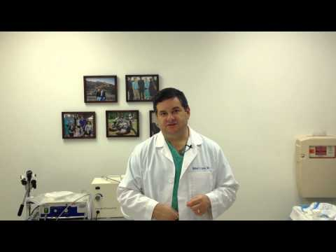 Video Treatment of Ovarian Cysts