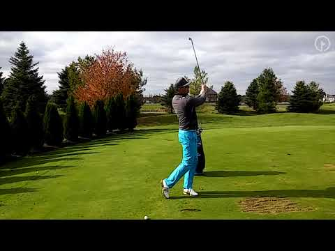 Choke Down on Irons to Create Better Distance Control