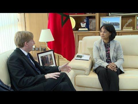 العرب اليوم - شاهد: السيدة بوستة تجري مباحثات مع وزير التربية في إقليم نيو برونسويك