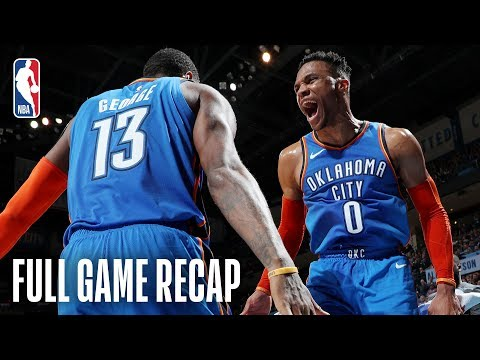 NETS vs THUNDER | Russell Westbrook Registers His 26th Triple-Double | March 132019