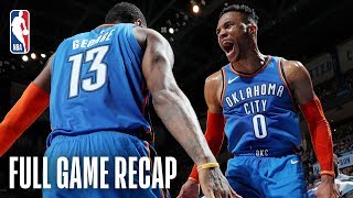 NETS vs THUNDER   Russell Westbrook Registers His 26th Triple-Double   March 13, 2019