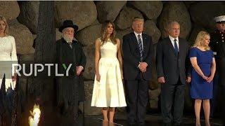 President Donald Trump Participates in Memorial Ceremony at Yad Vashem