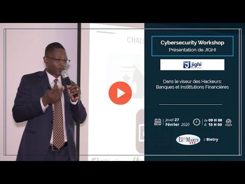 <a href='https://www.akody.com/business/news/business-cyber-security-workshop-dans-le-viseur-des-hackeurs-banques-et-institutions-financieres-presente-par-jighi-325823'>Business: CYBER SECURITY WORKSHOP, Dans le Viseur des Hackeurs (Banques et Institutions Financières) présenté par Jighi</a>