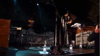 Bat For Lashes -- 'Lilies' and 'What's A Girl To Do?' @ The Portsmouth Pyramids 3 Nov 12