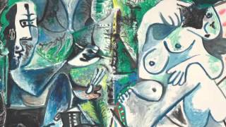 Le Peintre Et Son Modèle Dans Un Paysage (Picasso)