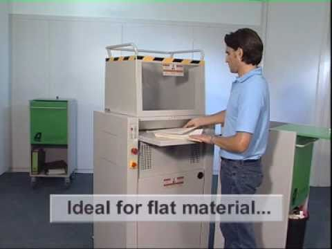 Video of the IDEAL 4605 CC P-5 Shredder