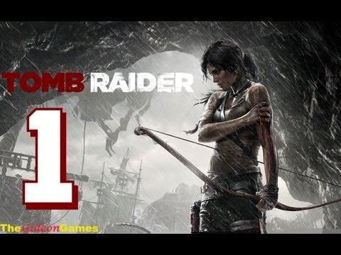 Прохождение Tomb Raider на Русском (2013) -  Часть 1 (Крушение)