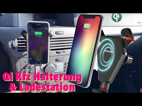 Qi Wireless Smartphone Kfz Halterung von WOFALO für alle Qi Fähigen Smartphones