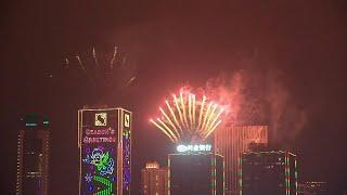 Hong Kong celebrates the start of 2020   AFP