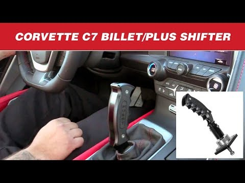 2014-19 Chevrolet Corvette C7 - Hurst Billet/Plus Pistol-Grip Manual Shifter