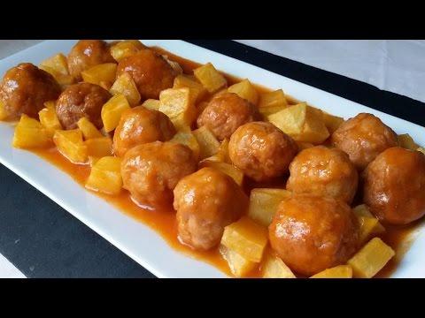 Cómo preparar albóndigas caseras y trucos para congelarlas. Albóndigas con tomate