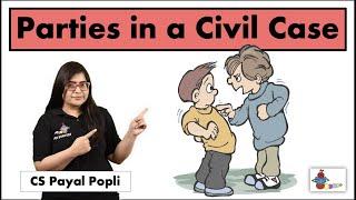 Who are the parties in CIVIL CASE? | Civil Case parties | Plaintiff | Defendant  | Respondent