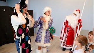 """Кукольный спектакль для детей """"Три поросёнка"""" с Дедом Морозом"""