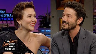 Maggie Gyllenhaal Doesn't Remember Diego Luna's Kiss