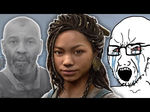 The Anti-SJW MELTDOWN over 'Race Swapping' - God of War's Angrboda and Denzel Washington's Macbeth