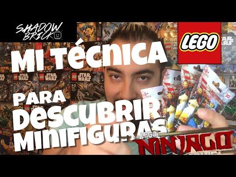 LEGO /// Mi técnica para descubrir minifiguras en los sobres de Ninjago///ESPAÑOL HD