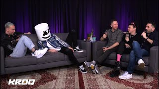 YUNGBLUD, Blackbear, And Marshmello Get Wild In KROQ Interview With Stryker & Klein
