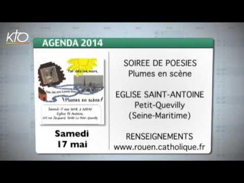 Agenda du 12 mai 2014