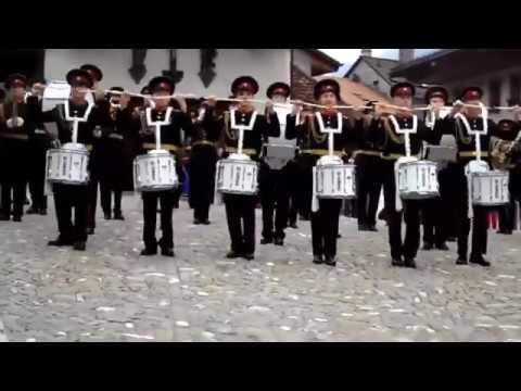 Русская Армия завоёвывает любовь всего мира! Выступление в Альпах
