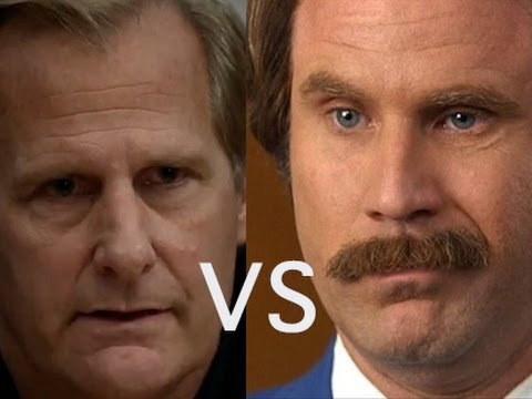 The Newsroom's Will McAvoy vs. Anchorman's Ron Burgundy