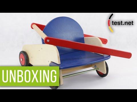Haba | Lauflernwagen (Unboxing) | test.net