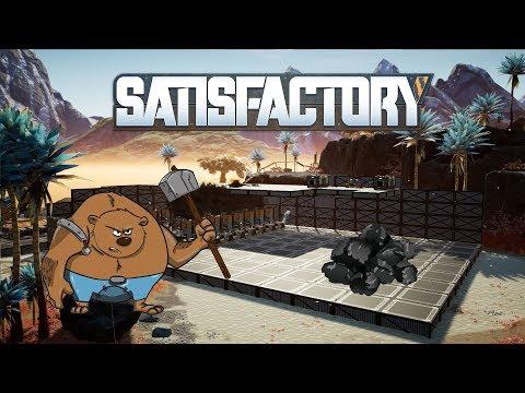 Satisfactory - ⚫Černé zlato☻| Livestream záznam