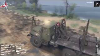 Spintires   Game Play   The Volcano Map   Part 1