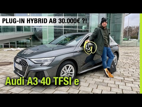 2021 Audi A3 Sportback 40 TFSI e (204 PS)🔋 Plug-in Hybrid ab 30.000€?🤯 Fahrbericht | Review | Test
