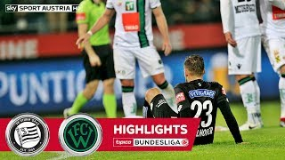 Highlights: Tipico Bundesliga, 13. Runde: SK Sturm Graz - FC Wacker Innsbruck 1:1