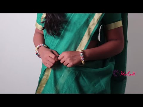 How to Wear A Saree - Andhra Style Saree Wearing Tutorial   New Look