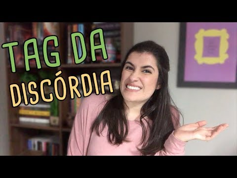 TAG DA DISCO?RDIA | BOOK TAG