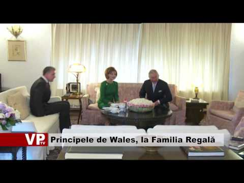 Principele de Wales a vizitat Familia Regală