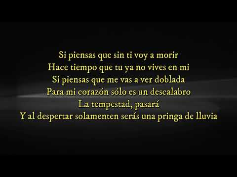 Ya no vives en mi (letra) Yuri ft Carlos Rivera
