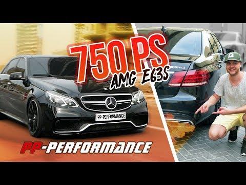 Sowas geht nur in DUBAI! PP-Performance, AMG E63S, 750PS & keine Kats