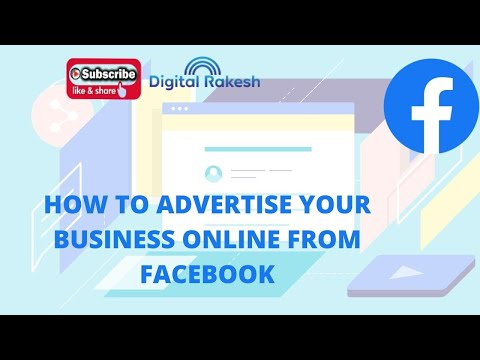 How to advertise your business online from facebook