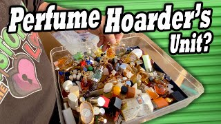 Did I Buy A VINTAGE PERFUME HOARDERS UNIT At The Abandoned Storage Unit Auction? More Collections!