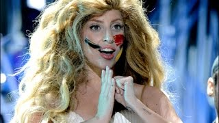 Lady Gaga - Applause (live) VMA's 2013 HD