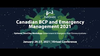 Canadian BCP and Emergency Management 2021 Session