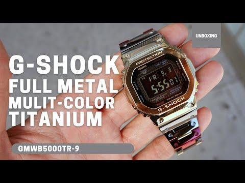 CASIO G-SHOCK FULL METAL MULTI-COLORED TITANIUM GMWB5000TR-9