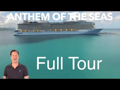 Anthem of the Seas Review – Full Walkthrough – Ship Tour – Royal Caribbean