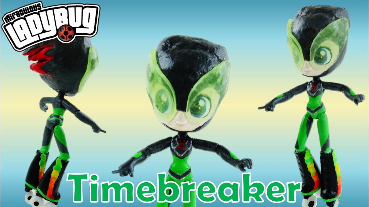 TIMEBREAKER (CHRONOGIRL) Miraculous Ladybug & Cat Noir Villain Custom Doll from Equestria Girls Mini