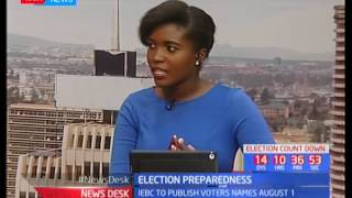 Election Preparedness: Studio interview with Senior reporter Patrick Amimo