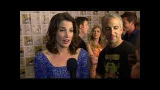 Comic Con 2013 - Cobie Smulders on Captain America: