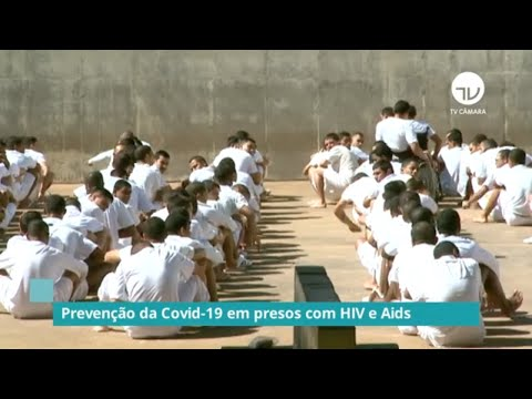 Prevenção da Covid-19 em presos com HIV e Aids – 04/10/21