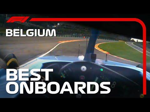 フェルナンド・アロンソがスパ・フランコルシャンをF1で走るヘルメットカメラ映像 F1 第12戦ベルギーGP